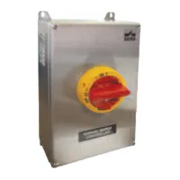 KER Series IP66 Stainless Steel Disconnect Switches