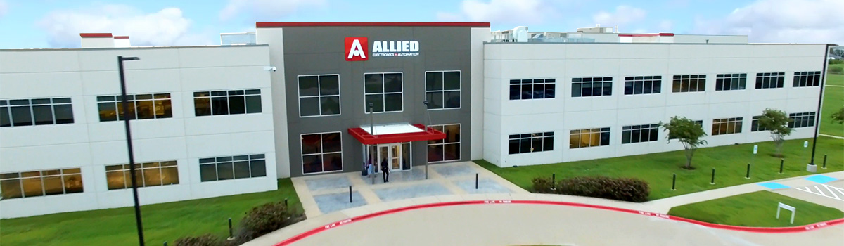 Allied Electronics & Automation building front view
