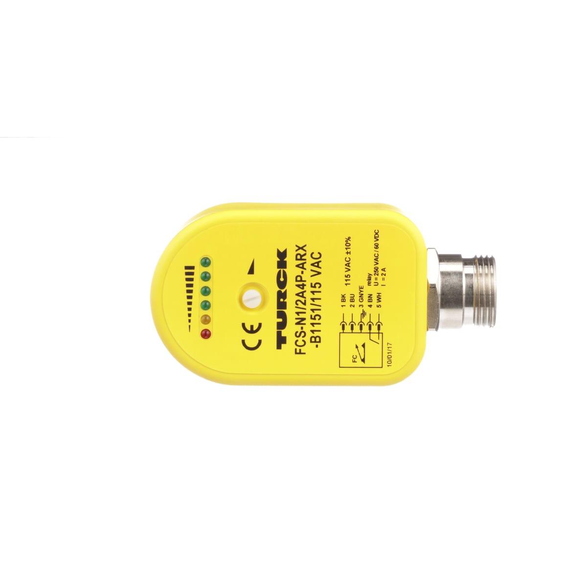 Turck Fcs N1 2a4p Arx B1151 115vac Sensor Wiring Diagram Close