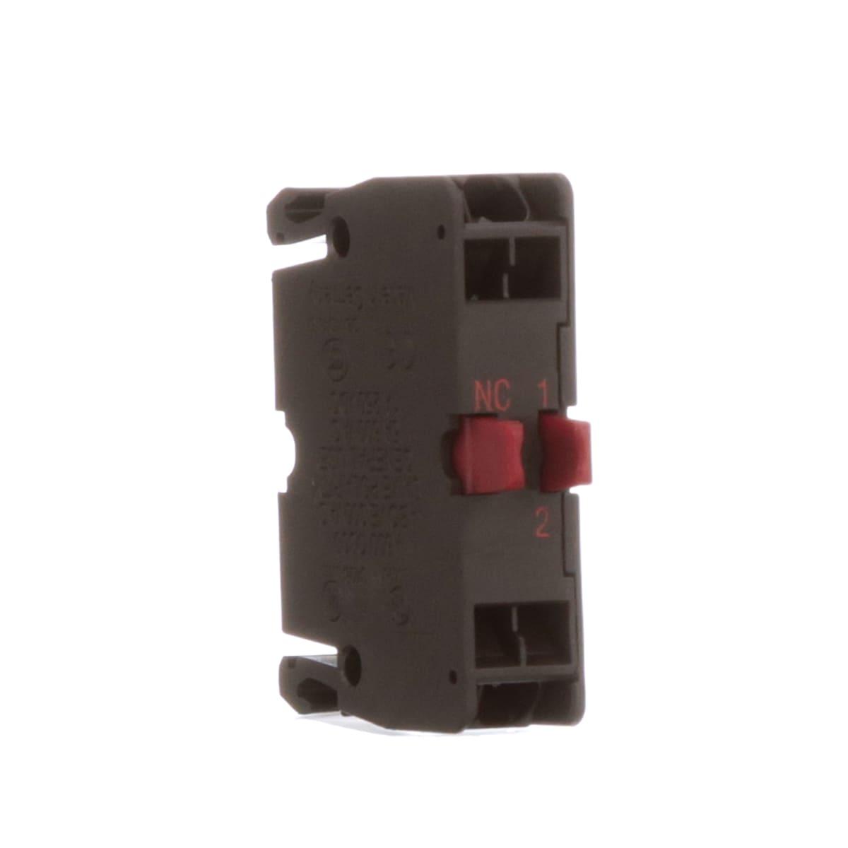 Eaton Cutler Hammer M22 Ckc01 Nc Contact Block Fuse Box Close