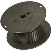 Alpha Dearborn - PPM1030 BK005 - 600/50VAC/VDC +105C Blk PVC Ins 105 ...