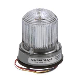 125 XBR LED; Multi-Stat; RED; GREEN; AMBER; DIV2; 120VAC; Gray Base
