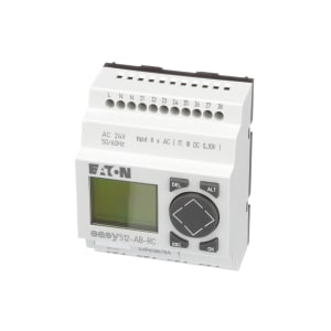 Smart Relay; EZ-500; 12 I/O - 8 IN 24VAC; 4 OUT; CLK; DISPLAY