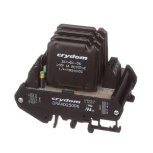 Contactor; DIN MNT H-BRG 250VDC 6A 5VDC CONT