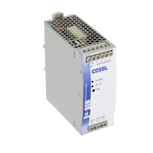 Power Supply; AC-DC; 24V; 10A; 85-264V In; Enclosed; DIN Rail; PFC; 240W; KHE Series