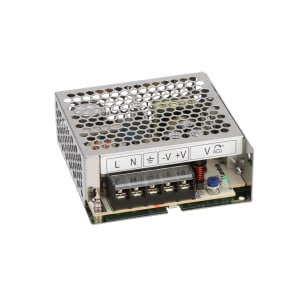 Power Supply; AC-DC; 12V; 4.2A; 86-264V In; Enclosed; Panel Mount; PFC; 50W; LS Series