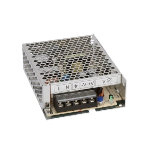 Power Supply; AC-DC; 12V; 6A; 86-264V In; Enclosed; Pnl Mnt; PFC; Embedded; 72W; LS Series