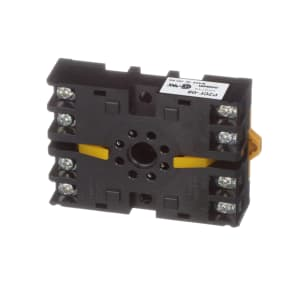 Socket; Relay; 8 Pin; Track Mounting/Front Connecting