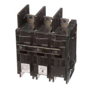 15A 3 Pole Miniature Circuit Breaker BQH
