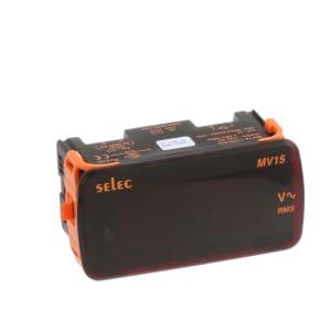 Digital Voltmeter; 3-Digit LED; 1/8 DIN; 50-480 VAC Range; 110 VAC +/-20% (60Hz)