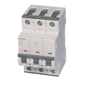 Circuit Breaker; Supplementary; 3-P; 32A; C Curve; 480 VAC; DIN Mnt; UL 1077