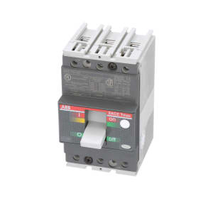 Molded Case Circuit Breaker; Tmax; T1N; T-100A Frame; 3 Pole; 60A; 600Y/347VAC/500VDC