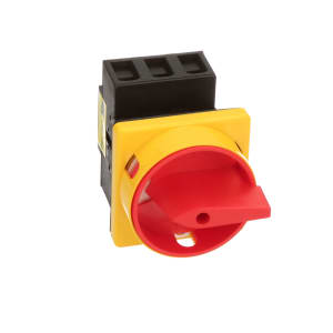Disconnect Switch; 3 Pole; Panel Mount; Non-Fused; 750VAC; 25A; 11kW; IP65