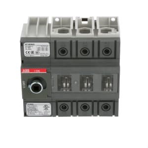 Non-Fusible Disconnect Switch; 6 Pole; 100A; DIN Rail//Panel Mount