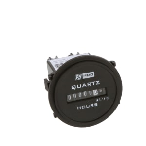 RS Pro Hours Run Meter Clamp Fixing 10-80Vdc