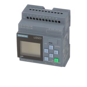 Controller; Logic; LOGO! 8.2; 12/24V DC/RELAY; 8 DI (4AI)/4 DO; ETHERNET