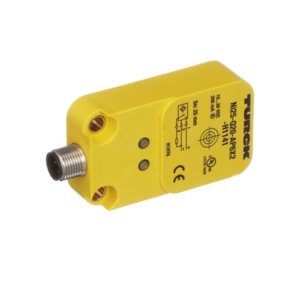 Turck Ni25 Q20 Ap6x2 H1141 No Blockinductive Prox