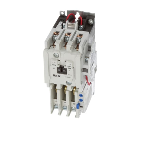 CUTLER HAMMER AN16DN0 SIZE 1 CONTACTOR 120 VAC COIL 27 AMP 10 HP 3 PHASE