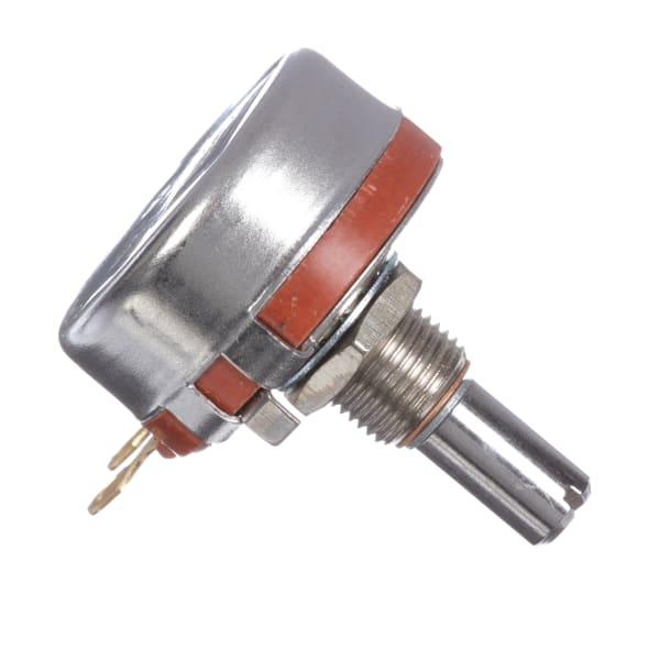 Potentiometer RV4 Series 1 Turn 5K Ohms 10% Tol Pwr-Rtg 2W Slotted 0.875In Shaft