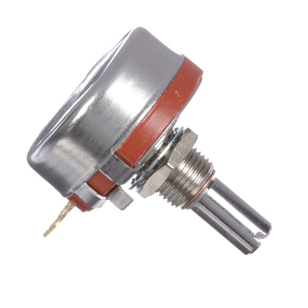 Potentiometer RV4 Series 1 Turn 10K Ohms 10% Tol Power 2W Slotted 0.875 In Shaft