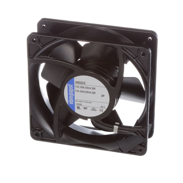 Ebm-papst - 4600x - Ac Fan  115v  120x120x38mm  106cfm  18w  50dba  Terminals