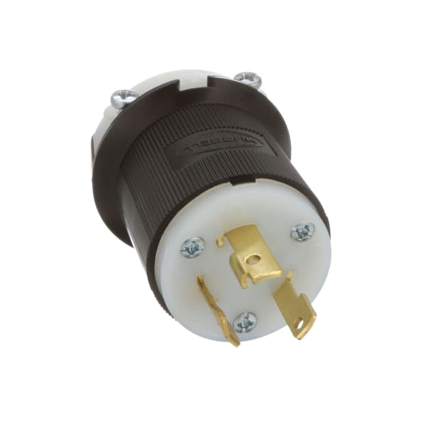 Hubbell HBL2321 Insulgrip Twist-lock Plug 20a 250 V Case of 30 for sale online