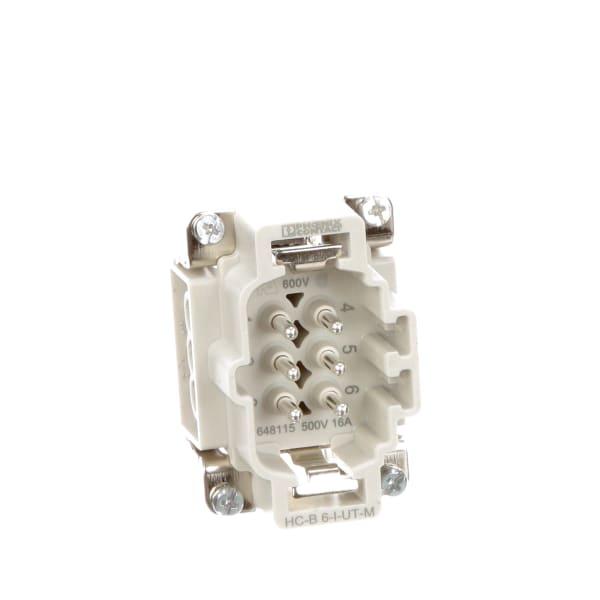 Phoenix Contact Heavy Duty Power Connectors HC-B 16-A-UT-PER-M