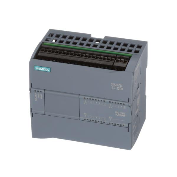 Controller, Logic, CPU 1214C, DC/DC/Relay, 14DI/10DO/2AI, SIMATIC S7-1200