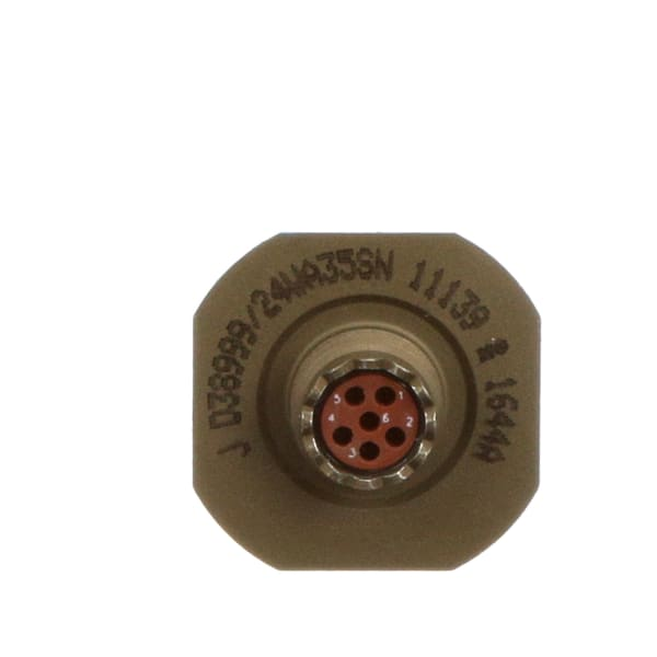 Circular Connector; Jam Nut Receptacle w/Socket; MIL-DTL-38999 III Series