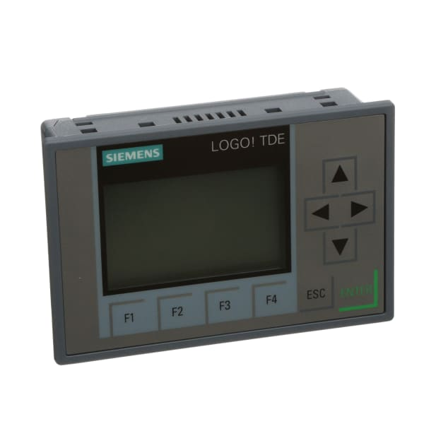PLC Accessories, Text Display, 6 Lines 3 Color 2 Ethernet Ports, Logo 8 Series