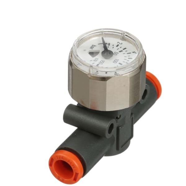 Metal Work Pneumatic - 9067016U - Pressure Gauge; inline ...