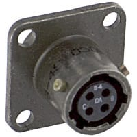 Amphenol Industrial MS3112E8-4S