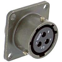 Amphenol Industrial MS3112E12-3S