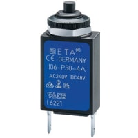 E-T-A Circuit Protection and Control 106-M2-P10-0.5A