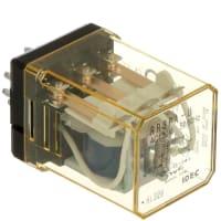 IDEC Corporation - RR3PA-UAC120V - Relay; E-Mech; Power; 3PDT; Cur on