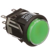 NKK Switches LB25CKW01-5F-JF