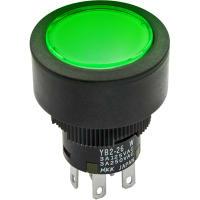 NKK Switches YB225CWCKW01-5F24-FB