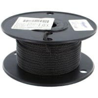 "Olympic Wire and Cable Corp. XC100 1/8"" BLACK"