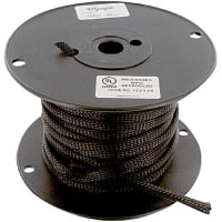 "Olympic Wire and Cable Corp. XC100 3/8"" BLACK"