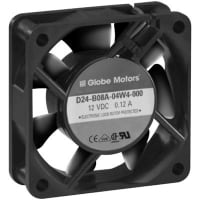 Globe Motors D24-B08A-04W4-000