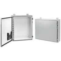 Hoffman A24p20g Enclosure Accessories Panel 21 00x17