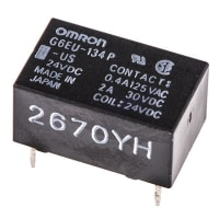 Omron Electronic Components G6EU-134P-US DC24