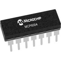 Microchip Technology Inc. MCP6004-I/P