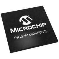 Microchip Technology Inc. PIC32MX664F064LT-V/BG