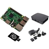 Raspberry Pi RASPBERRY PI 3 MODEL B KIT - BLACK