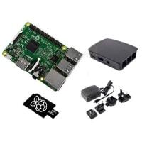 Raspberry Pi RASPBERRY PI 3 MODEL B KIT - BLACK - 16G