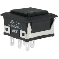 NKK Switches UB16KKW015C-AB
