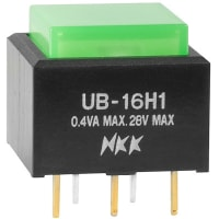 NKK Switches UB16SKG035F-FF