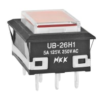 NKK Switches UB26NKW015C-JC