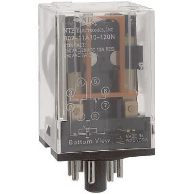 Octal Relay Wiring Diagram Volt on